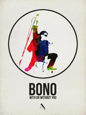 Bono Watercolor by David Brodsky