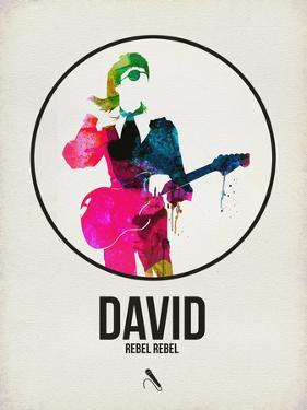 David Watercolor by David Brodsky