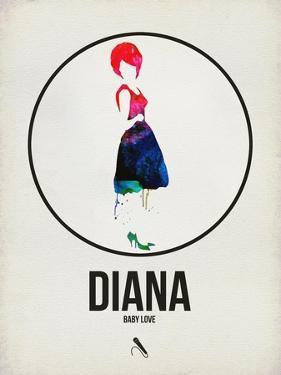 Diana Watercolor by David Brodsky