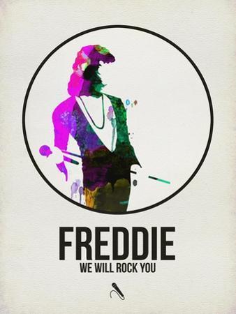 Freddie Watercolor by David Brodsky