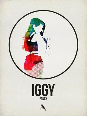 Iggy Watercolor by David Brodsky