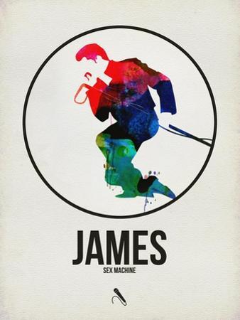 James Watercolor by David Brodsky
