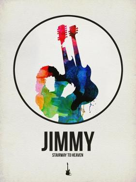Jimmi Watercolor by David Brodsky
