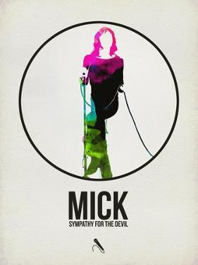 Mick Watercolor by David Brodsky