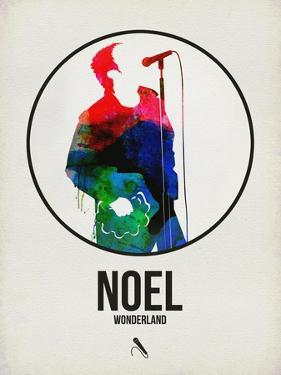 Noel Watercolor by David Brodsky