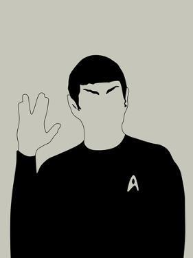 Spock by David Brodsky