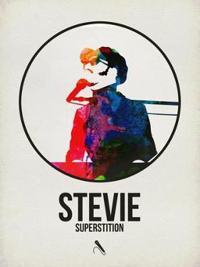 Stevie Watercolor by David Brodsky