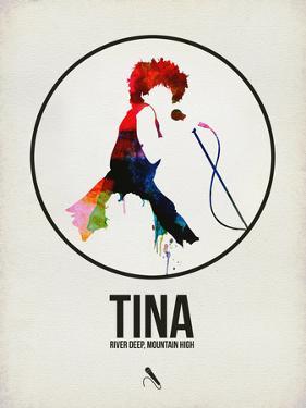 Tina Watercolor by David Brodsky