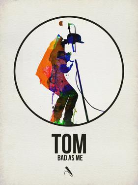Tom Watercolor by David Brodsky