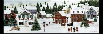 Christmas Valley Village by David Carter Brown