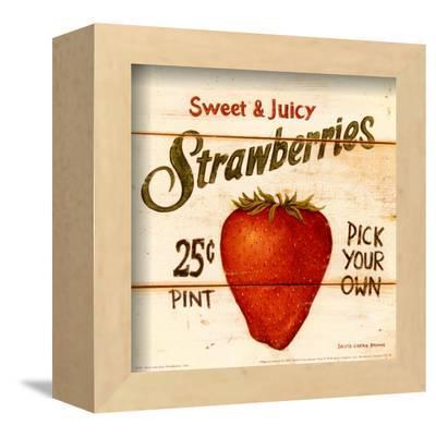 Sweet and Juicy Strawberries by David Carter Brown