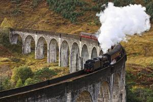 Jacobite Express by David Cation Photography