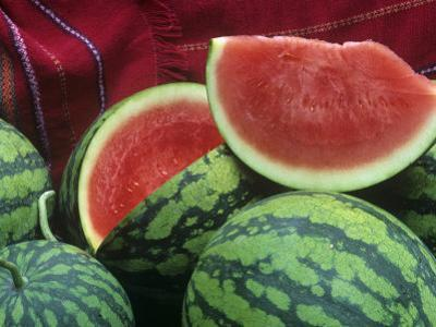 Seedless Watermelon, Deuce of Hearts Hybrid Triploid Variety by David Cavagnaro