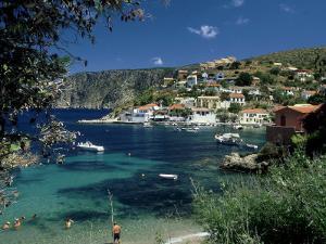 Asos, Greece by David Cayless