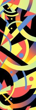 Abstract Multi Colored Pattern by David Chestnutt