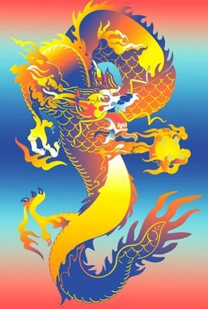Chinese Dragon by David Chestnutt