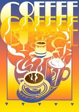 Coffee Poster by David Chestnutt