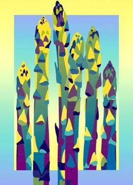 Colorful Asparagus by David Chestnutt