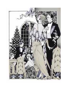 Deco Christmas by David Chestnutt