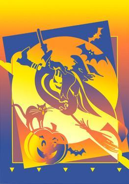 Halloween Landscape by David Chestnutt