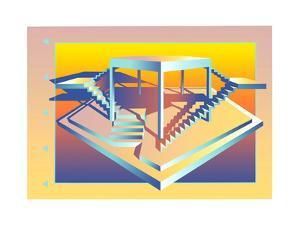 Illustration of Built Structure by David Chestnutt