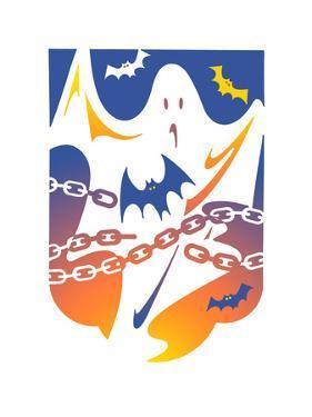 Illustration of Ghost by David Chestnutt