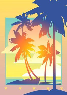 Illustration of Palm Trees by David Chestnutt
