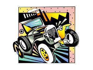 Old Fashion Car by David Chestnutt