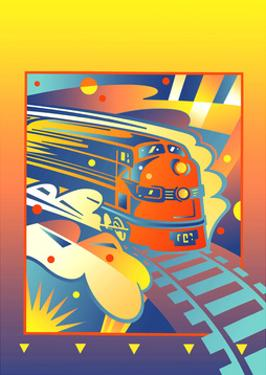 Passenger Train by David Chestnutt