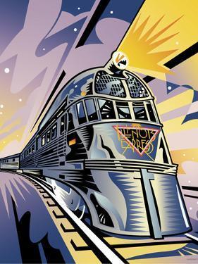 Pioneer Zephyr by David Chestnutt