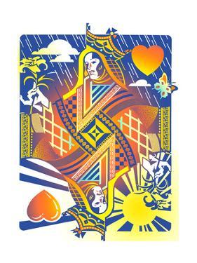 Queen of Hearts by David Chestnutt