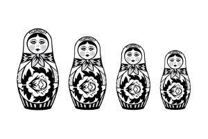 Russian Nesting Dolls by David Chestnutt