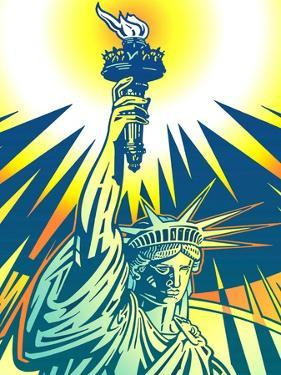 Statue of Liberty by David Chestnutt