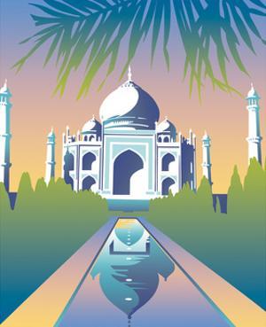 Taj Mahal, Agra, India by David Chestnutt