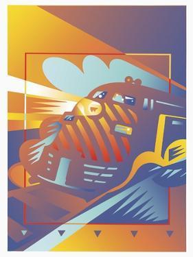 Train West by David Chestnutt