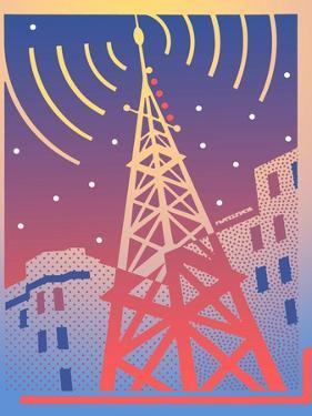 View of Communication Tower by David Chestnutt