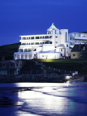Burgh Island Art Nouveau Hotel, Devon, UK by David Clapp