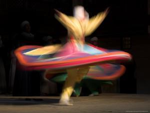 Sufi Dancer, Egypt by David Clapp