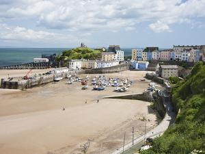 Tenby Harbour, Tenby, Pembrokeshire, Wales, United Kingdom, Europe by David Clapp