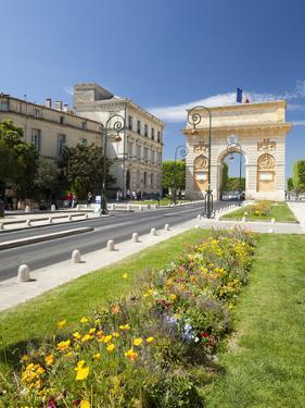 The Arc De Triomphe, Rue Foch, Montpellier, Languedoc-Roussilon, France, Europe by David Clapp