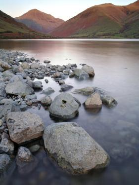 Wast Water in the Lake District at Sunset, UK by David Clapp