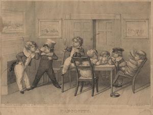 Precocity, 1827 by David Claypoole Johnston