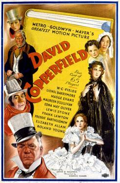David Copperfield, W.C. Fields, Freddie Bartholomew, 1935