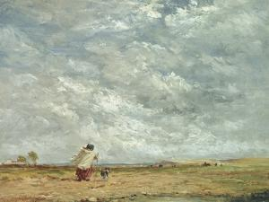 A Windy Day, 1850 by David Cox