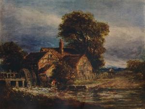The Water Wheel, c1839 by David Cox the elder