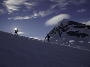 Mountaineering on Mt. Aspiring, New Zealand by David D'angelo
