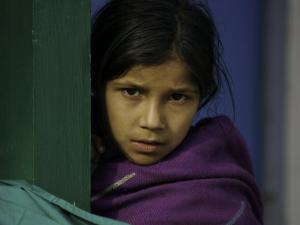 Young Girl's Face, Nepal by David D'angelo