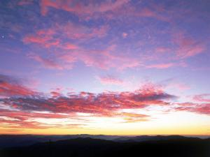 Cloud Patterns at Sunset by David Davis