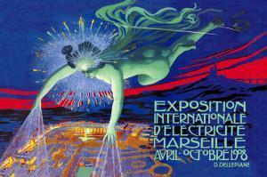 Exposition Internationale d'Electricite, Marseille by David Dellepiane