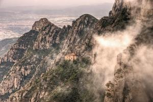 The Chapel on Top of the Sacred Cave in Monserrat by David DeSousa Drumond Photography